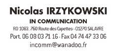 logo in communication
