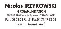 logo in communication